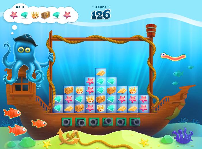 Gamedesign für Casual Game. Illustration, Animation